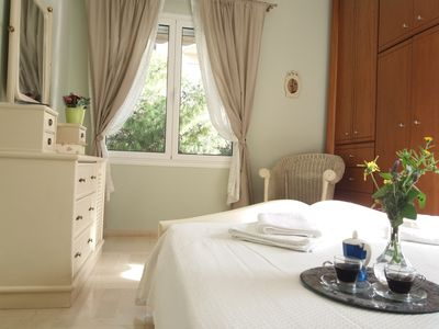 Photo for Charming and Comfortable Apartment - Sandy Beach in 600m  Varkiza Athens Riviera