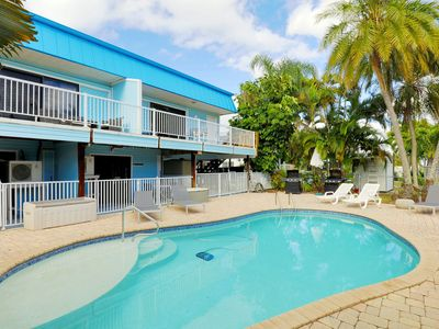 Photo for Amazing Vacation Apartment On The Canal - Heated Pool and Dock