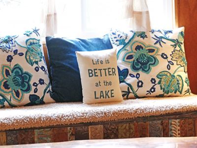 Photo for Renovated Rustic Chic. Drive or walk to the lake.*Master suite also available*