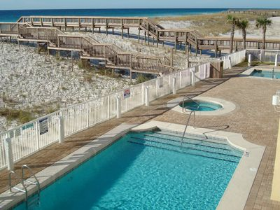 Photo for AVAILABLE!! 3 bed/3bath GULF FRONT w/ POOL & 2 HOT TUBS! Sleeps 10
