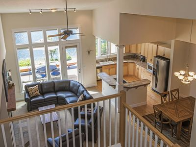 Photo for Bend Townhome w/Two Master Suites, Sunny Deck Overlooking Pond & Golf Course