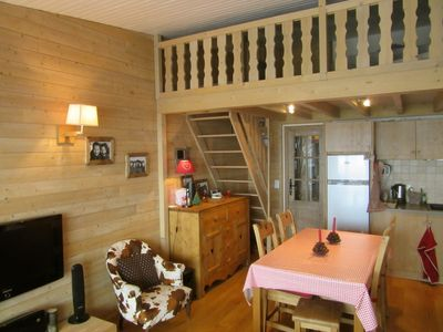 Photo for Alpe d'Huez - rated 4 * - 2Ch + mezzanine - 6 Pers - Completely renovated