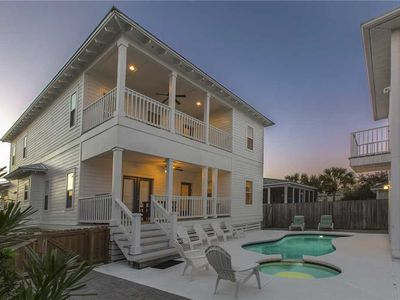 Photo for Barracuda - Crystal Beach! Heated Private Pool! Modern Touches! Inquire Today!