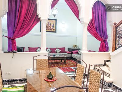 Photo for A Charming & affordable Moroccan traditional house/riad