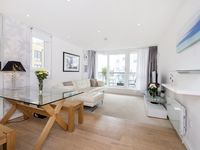 large light apartment by the rver thames