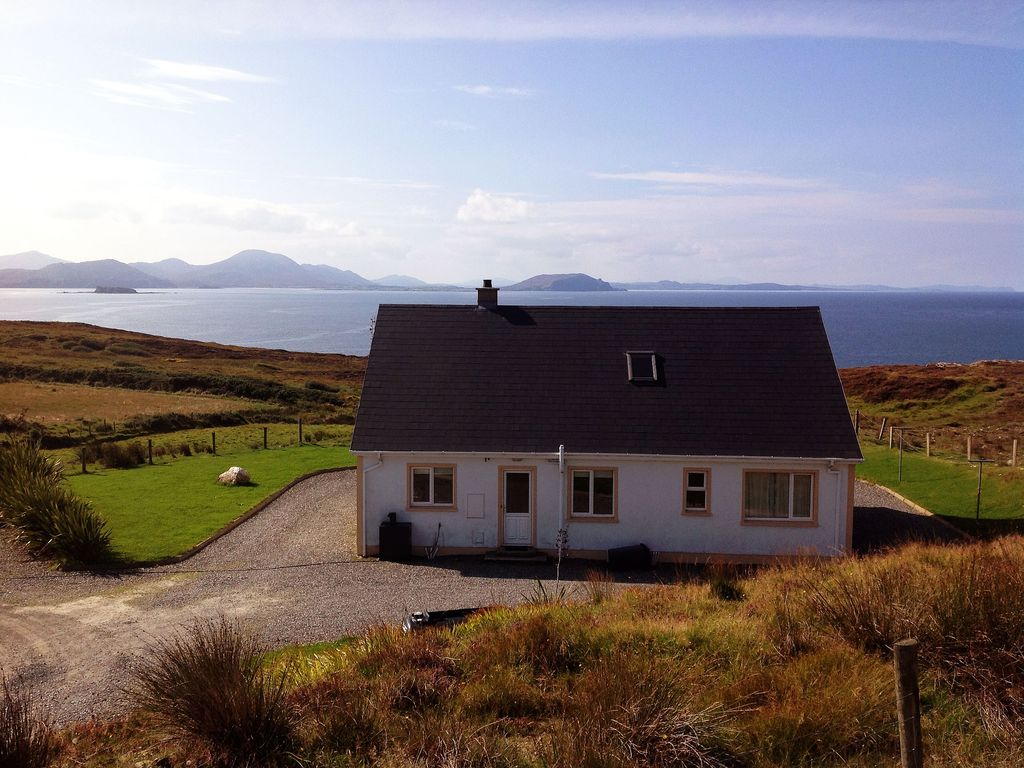 Beautiful house with stunning sea view on wild atlantic way malin hd co donegal