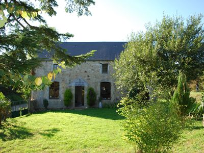 Photo for Tranquil Stone Cottage In The Heart Of The French Countryside