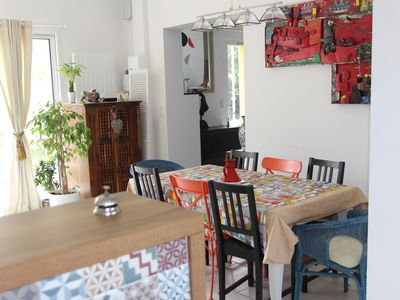 Photo for HOUSE AT 200M FROM THE BEACH FOR 8 PEOPLE WITH GARDEN