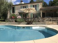 Lovely house, very well provided with all you need and with a swimming pool which was great.