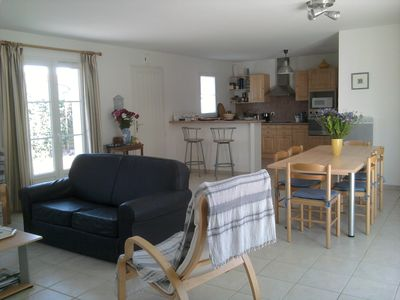 Photo for Near beach and shops, villa 3 *** with garden for 6 p