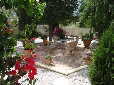 Totally private and peaceful mediterranean  garden