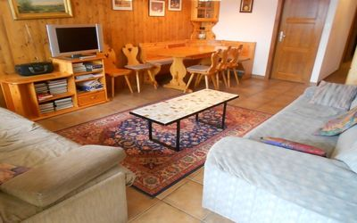 Photo for Comfortable 3*, 2-bedroom-apartment for 8 people next to the skilift from Veysonnaz. Bright living r