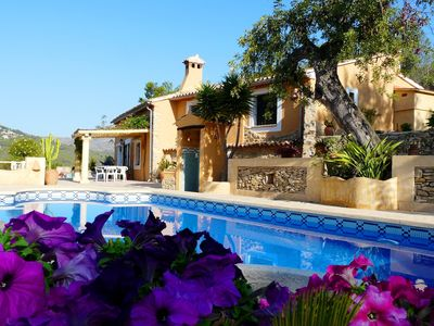 Photo for Calpe: Beautiful country house (Beach & Country)
