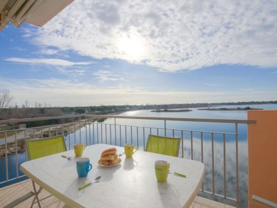 Photo for Port Camargue Apartment, Sleeps 6 with Pool and WiFi