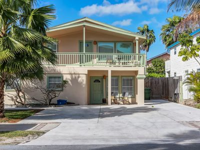 Photo for Dog-friendly beach house w/ fenced-in yard & private deck and shared hot tub