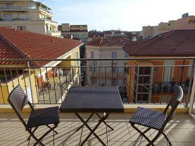 Photo for 2 ROOM APARTMENT WITH TERRACE - PARKING - MENTON CITY CENTER