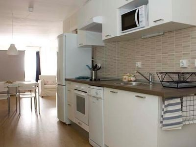 Photo for Studio apartment 1.4 km from the center of Barcelona with Air conditioning, Lift, Parking, Washing machine (467104)