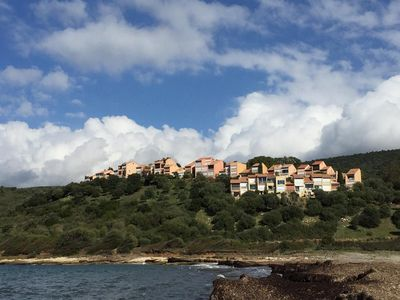 Photo for flat for 4 persons in residence seaside saint Florent