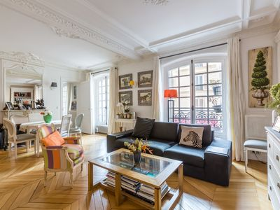 Photo for Family Stay Near Montparnasse - Three Bedroom Apartment, Sleeps 6 (Veeve)