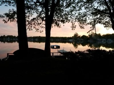 Photo for PEARL BEACH QUARTERS (Turk Lake) Greenville, MI: , Swimming on property, Private dock