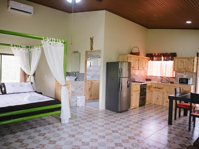 Photo for King Bed Studio in Jungle - Jacuzzi, Balcony w/ Great View, Pool, Waterslide