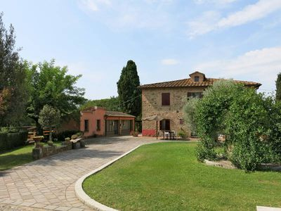 Photo for Apartment Podere Le Palaie  in Fabbrica di Peccioli (PI), Pisa - Lucca surroundings - 6 persons, 2 bedrooms