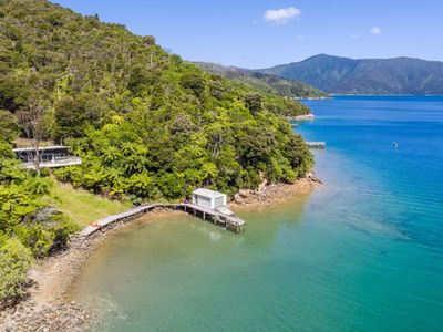 Photo for Blackwood Bay Bach, Queen Charlotte Sound
