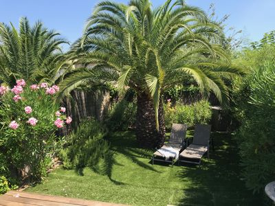 Photo for SAINT-TROPEZ IN QUIET, CHARMING HOUSE CLIMATISEE