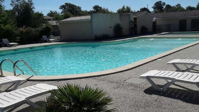 Photo for Comfortable house with swimming pools in HOURTIN Port