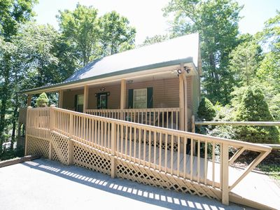 Photo for This beautiful log cabin is a perfect family get-away in the Smoky Mountains