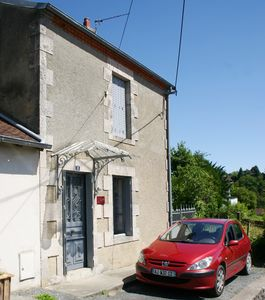 Photo for Peaceful, edge of town house with views, Boussac; La Creuse