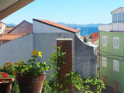 Photo for Studio flat with balcony and sea view Vodice