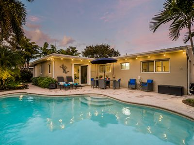 Welcome To The Coral Gardens Three Bedroom Three Bath Heated Pool Home!