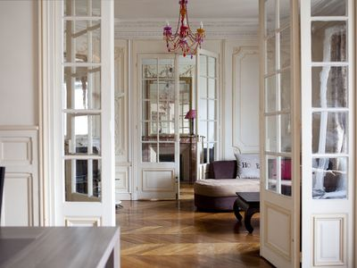 Photo for Lovely 19century Haussmann style spacious 130M2 Opera Center,4 bedrooms