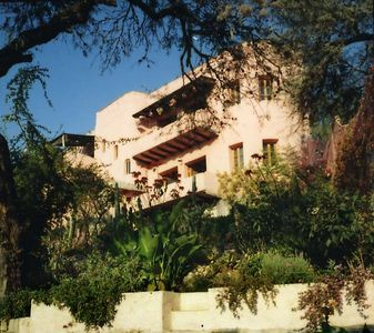Exterior of Casa Chepito, from front garden.
