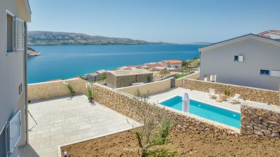 Photo for Charming villa ideal for family holidays on Pag