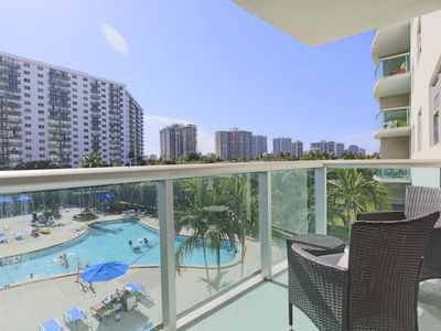 Photo for Ocean Reserve 1BR Apartment w/ Pool View