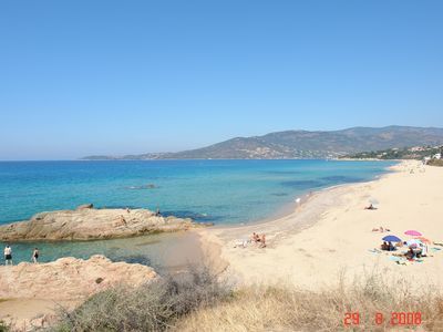Photo for Independent F3 Apartments in quiet and splendid Villa, Sea view (200m)