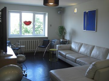 Liepaja, Latvia rental apartment, surround sound home entertainment, 3 bedroom