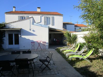 Photo for RENOVATED CHARACTER HOUSE NEAR LA ROCHELLE ILE DE RE IN QUIET