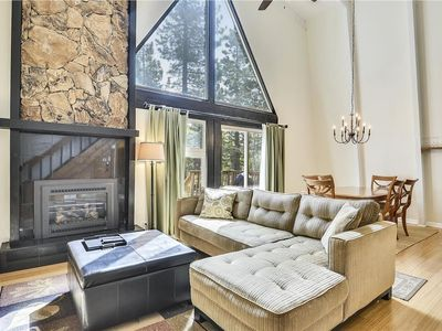 Photo for Tsai's Charming Tahoe Donner Cabin
