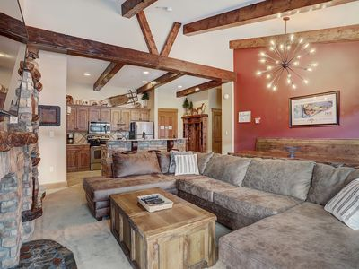 Photo for High End Penthouse in the Village! Families love The Springs! 2 Master bds!