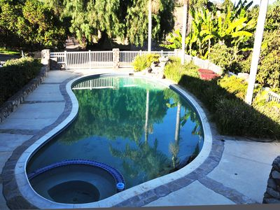 Photo for 5 Acre 4 BR RESORT Home w/ BIKE ACCESS to the BEACH & Private POOL