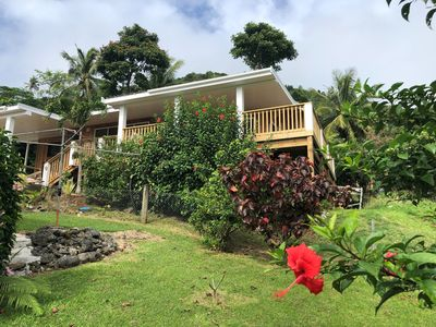 Large family home, tranquil hillside location with Pacific views