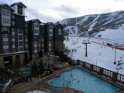 Photo for Marriott mountainside  2 bedroom, 2 bath  villa . Ski in / ski out