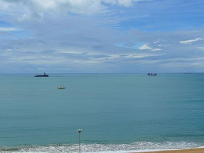 Photo for TERRACES, FROM THE SEAFRONT TO THE ATLANTIC, TOTAL VIEW, 2 QTOS, 71M, UP TO 5 Ps.