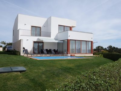 Photo for Luxury 5* villa with pool, 10 mins from beaches and 2 championship golf courses