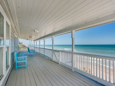 Photo for 2018 Ocean Front Home With All New Furnishings