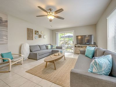 Photo for Bright Beach Townhome - 30 secs to sand! BBQ Grill|Surf Boards|Beach Towels