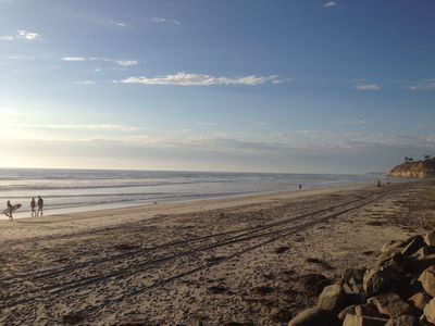 Photo for Del Mar Beach Condo, just steps from San Diego's best beach
